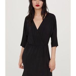 Jersey wrap dress NWOT